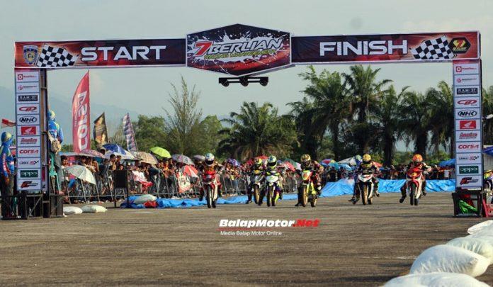 Hasil 7 Berlian Road Race Championship 2018 Padang