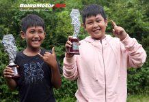 Kompak, Duo Kakak Beradik Bang Orel dan Bos Angga Podium Bersama di SE65cc