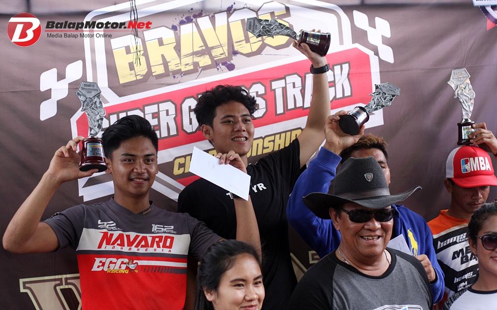 Hilman Maksum Sukses Taklukan Kelas Sport Trail Open Dengan Honda MegaPro