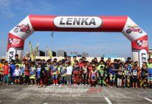 LENKA MiniGP Cup Race 2018 Seri 1 Bekasi Di Banjiri 184 Starter
