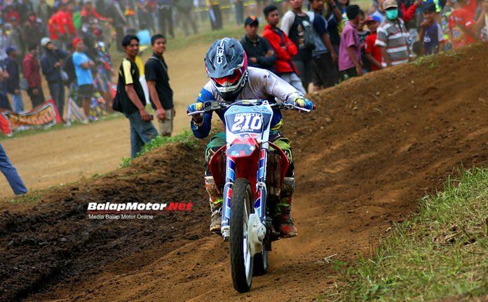Juara SE250cc di Magelang, Mario Salontahe Tahun Ini Siap Fokus Main Grasstrack Di Jateng