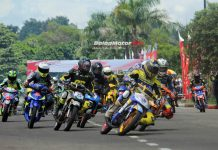 32 Mantan Pembalap Panaskan Trijaya Sumber Production Round 1 2018, Irvan OC Juarai Race 1