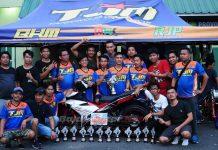 Tim TJM BKM Tanjung Tabalong Raih Juara Umum Drag Bike Banjarmasin, Motor Garapan Jawa