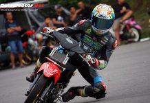 Tercyduk!! Dicky Ersa Mulai Uji Coba Motor Honda Trijaya