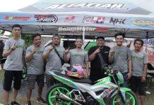 Andalkan Ryan Pratama, Alfatah Racing Team Kisaran Tebar Ancaman di Kelas Pemula Motoprix Sumatera 2018