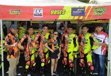 """Tiara Bintang """"Sang Owner"""" Terjun Langsung, BKS Racing Team Hampir Sapu Bersih Motoprix Singkawang 2018"""