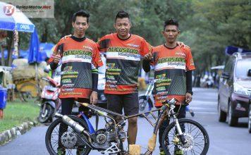 Ali Custom Jawara Petshop Racingstart, Tim Penguasa Kelas Matic Drag Bike di Sumatera Selatan