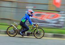 Hasil Final 7 Berlian Putra Mahkota Drag Bike Sumatera Series Pekan Baru 25 Maret 2018