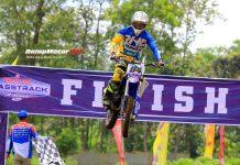 Grasstrack 2018: Edi Ariyanto Tampil Memukau di Moto 1