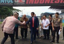 Presiden Jokowi : Pemerintah Restui Renovasi Sirkuit Sentul Untuk MotoGP
