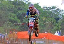 Perdana Jajal Sirkuit Gedong Songo, Mario Salontahe Mampu Runner-Up di Sport Trail