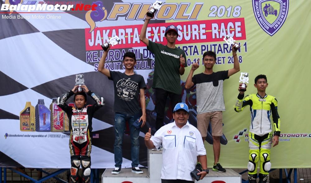 Kejurda IMI DKI Jakarta 2018: Ridwan & Rizqy Dua Pembalap Motor Cross yang Terjun ke Road Race