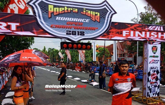 Hasil Poetra Jaya Road Race Championship Blora 11 Maret 2018