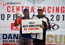 Support Danlanud Cup C-Racing open race 2018, Bukti Kontribusi Helm NHK di Dunia Balap Motor Nasional