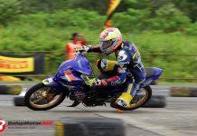 Motoprix Padang 2018: Fokus Pada Kaki dan Body, Kunci Agung Septian Tercepat di Kelas MP2