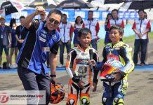 Dua Bocah Cilik Ini Jadi Sorotan di Seri 1 Yamaha Sunday Race 2018