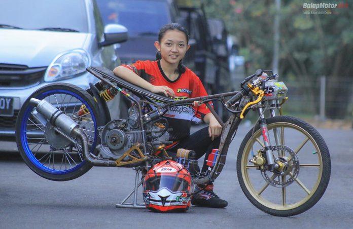 Jelang Drag Bike Pemalang 2018: Gabung RRT, Daffa Della Siap Main 3 Kelas