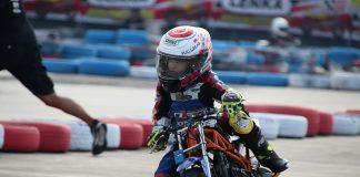 Latihan Tiap Hari, Gio Cornelius Gani (4 Tahun) Siap Tarung di Seri 2 LENKA Cup Race 2018