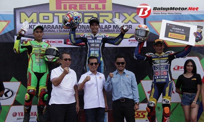 Jaga Suhu Mesin Dan Ban Jadi Kunci Doohan Juarai Race MP2 Motoprix Padang 2018, IRC Fasti 2 Jadi Andalan