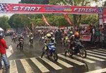 Hasil Road Race Kota Batusangkar Sumatera Barat 8 April 2018