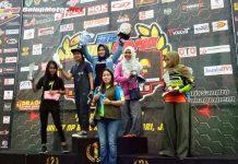 Juara Umum Wanita SCP 2018, Modal Cantik De Atun Hadapi Motoprix Subang