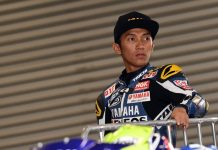 Sempat Crash di Warm Up Pagi, Wahyu Aji Tetap Optimis Podium UB150