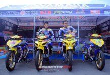 Yamaha Cup Race 2018 Singkawang : Tempuh Perjalanan 4 Hari 5 Malam, Tim Yamaha Aditama Siap Borong Podium