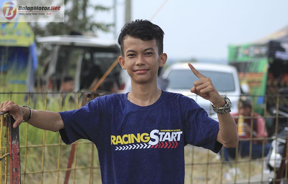 530 Starter Ramaikan Gelaran KNCL Competition Drag Bike 2018 Lampung Selatan, Noka Kurcaci Juara Umum