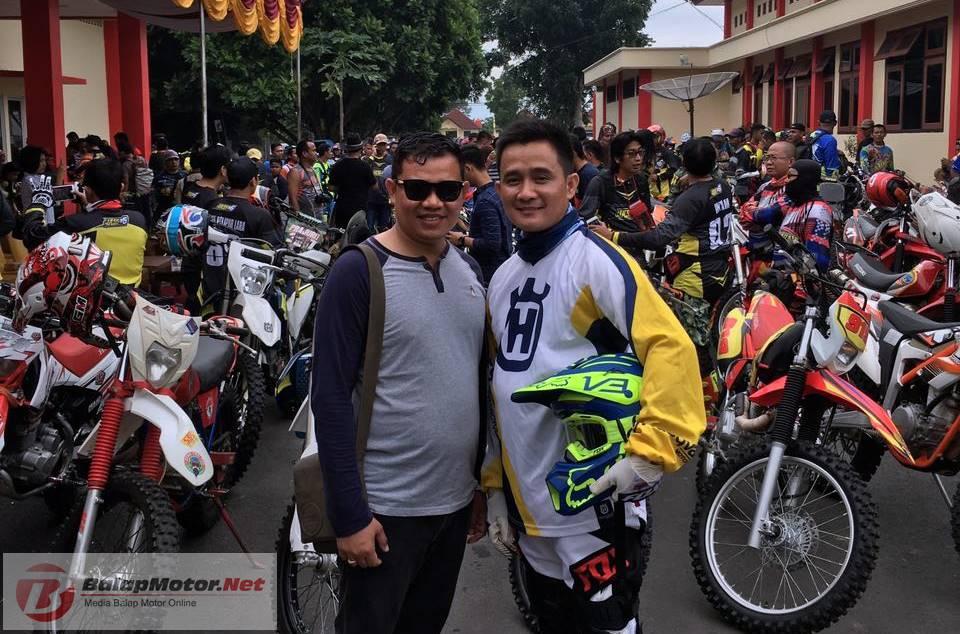 Bos Tim Yamaha Bintang Centula OKU Timur Tercydux di Motoprix Wonosari 2018, Ngapain Yak ?