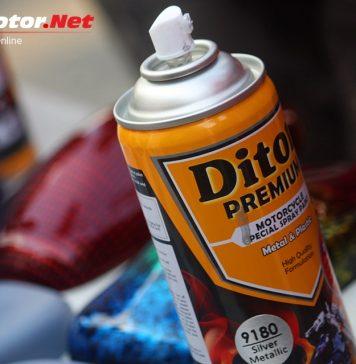 Cat Semprot Diton Premium, Solusi Tepat Buat Warna Motor Balapmu!