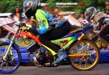 Setelah Semarang, Duel Rina Somay dan Inna Nunil Berlanjut di GDS Fun Dragbike Klaten