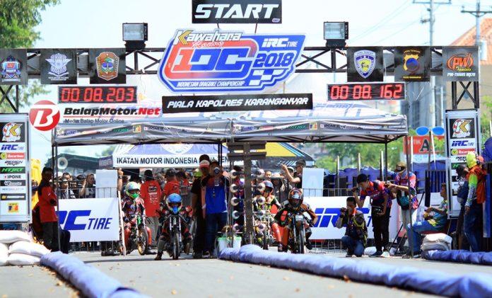 Hasil Lengkap Indonesia Dragbike Championsip (IDC) Karanganyar 13 Mei 2018