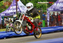 SSC Racing Start Latber Drag Bike Semarang Diserbu 460 Starter, Panas Bro!