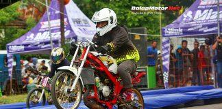 SSC Racing Start Latber Drag Bike Semarang Diserbu 460 Starter, Panas Bro!