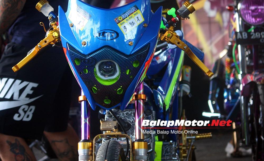 Modifikasi FU Keren Ikut GDS Fun Dragbike, Part B-Pro Juara Bro!