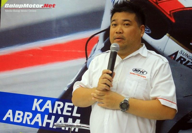 Hadir di PRJ Kemayoran, Karel Abraham Hadiri Lauching 3 Helm Baru NHK, Berikut Daftar Harganya