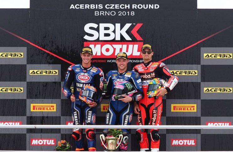 Duet Yamaha Kuasai Race 2 WSBK Brno Ceko, Duet Kawasaki Bermasalah?