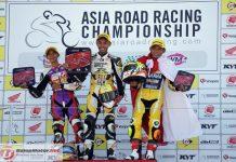 ARRC Jepang 2018 : Md Helmi Azman Juarai Race 1 UB150, Gupita Raih Podium Pertama