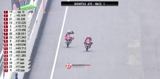 Overtake Tikungan Terakhir, Mario SA Jawara Race 1 ATC Round 3 Sepang