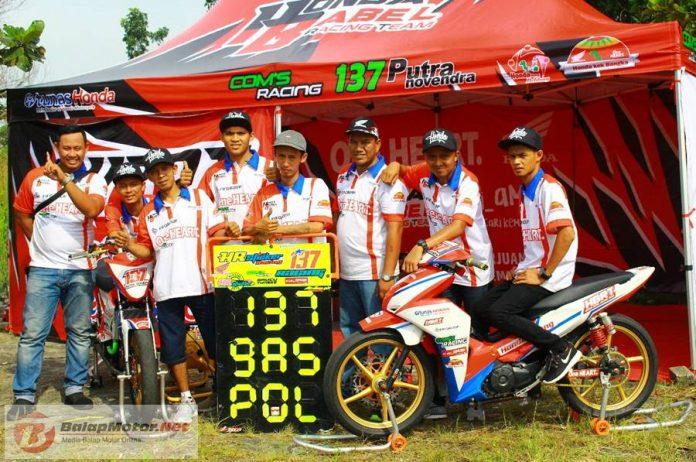 Motoprix Bangkinang 2018 : Perdana Tampil, Tim Honda Bangka Belitung Menebar Ancaman