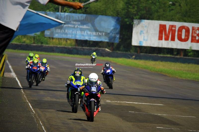 Gupita Kresna Buktikan Kehandalan Ban IRC Fasti 1 di Seri 3 Yamaha Sunday Race 2018
