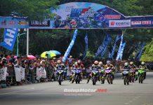 Semaraknya HUT YMC Ke-63 di Gelaran Yamaha Cup Race Banda Aceh 2018