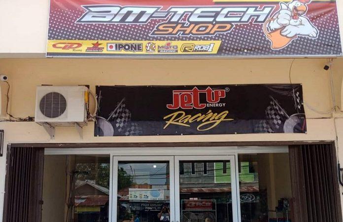 BM Tech Shop Buka Gerai di Jambi, Sediakan Part Racing Hingga Variasi