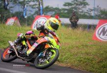 Motoprix Tasikmalaya 2018 : Pembalap 9 Tahun Cessy Meilandri Bersinar di Debut Perdananya