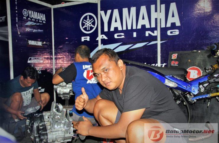Motoprix Tasikmalaya 2018 : Yamaha Bahtera Siap Lanjutkan Hasil Baik di Malang Dengan Knalpot Power Bomb