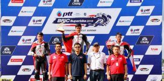 Herjun AF Kibarkan Merah Putih di Race 1 Thailand Talent Cup