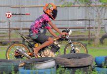 Mizzle Drag Bike 2018: Dikawal Sanjaya & Poetra Mahesa, Wildan Kecil Siap Tempur!