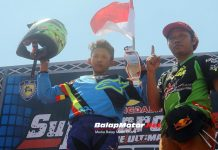 Kejurnas Motocross 2018 (Banjar): Nakami Double Winner, For Lombok!