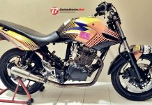 Modif Tiger Londotech, Antar Komunitas BITC Banjarnegara Raih Dua Piala di Fun Race HTCI Solo