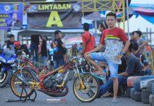 Dragbike Kotabaru Lampung: Osenk Taxian Sikat Kelas Ninja TU dan FFA Lewat Kuda Besi Kalenk Rombenk Pekajaman